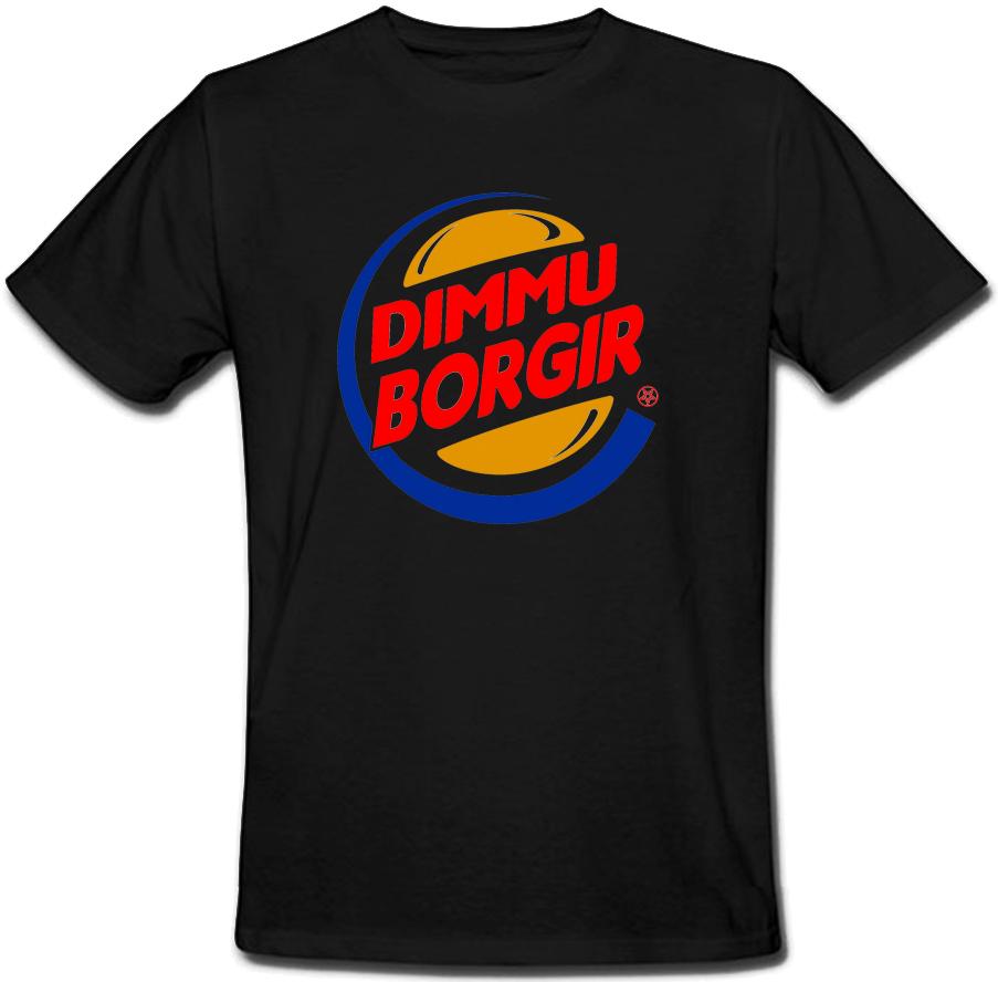 Футболка Dimmu Borgir - Burger King (чёрная)