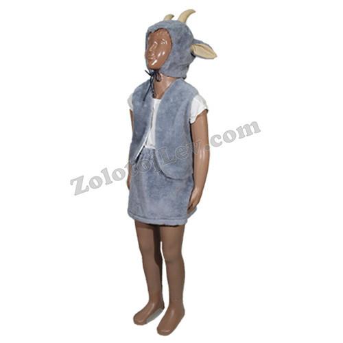 Комплект Козы шапка, жилет