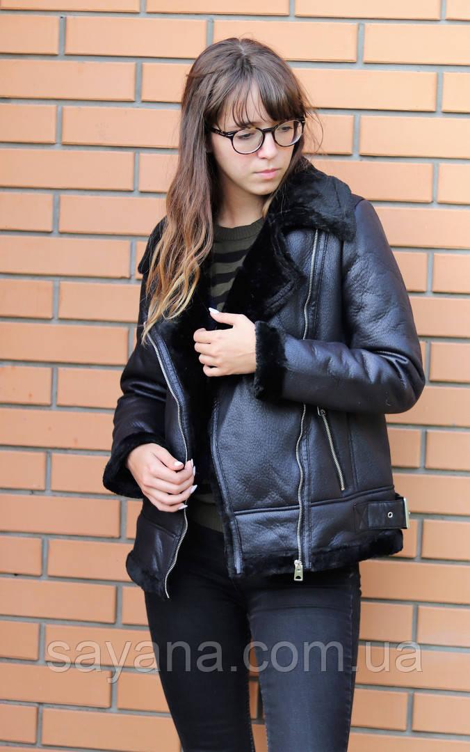 Женская куртка на меху. БР-9-0918