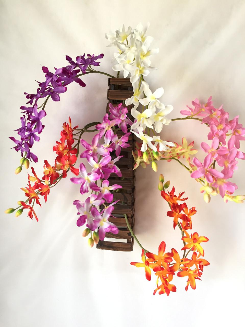 Орхидеи ветка Ангрекоиды   75 см