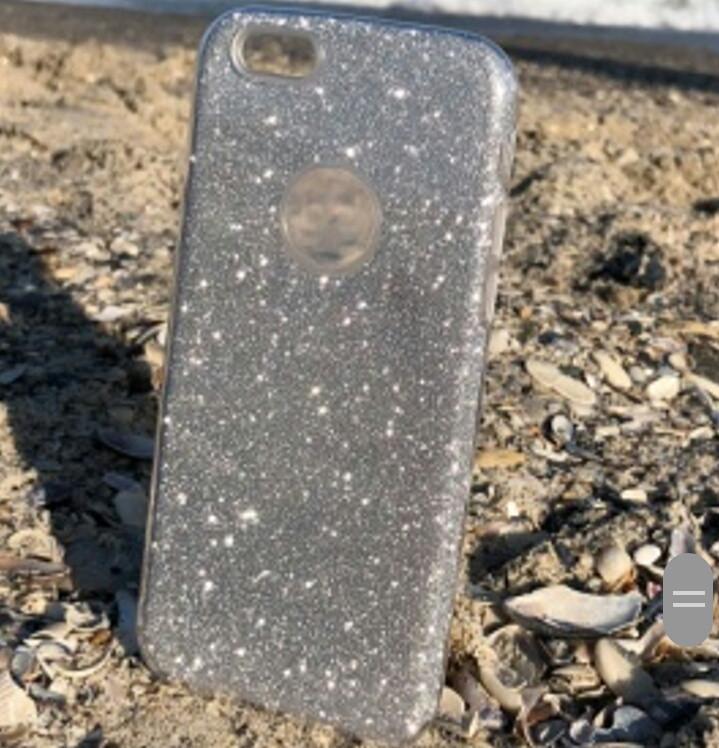 Чехол накладка Shine для Xiaomi Redmi 5 plus серебро