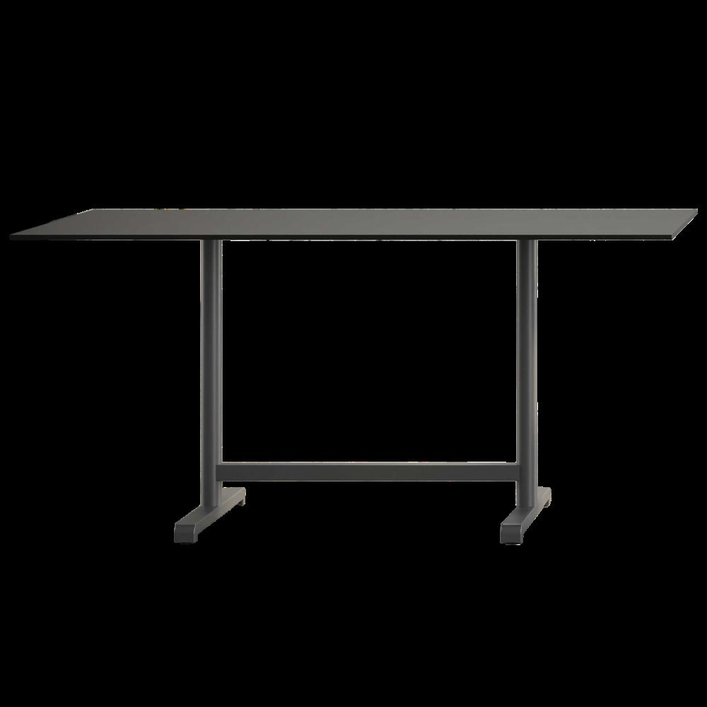 База стола Plus II 80x60x73 см сіро-коричнева Papatya