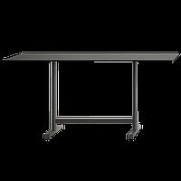 База стола Plus II 80x60x73 см сіро-коричнева Papatya, фото 1