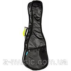 Чехол для укулеле концертной MusicBag UKG24-Y,  утеплитель 10 мм, черный