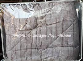 Теплое одеяло на овчине двухспальное от украинского производителя оптом и в розницу, фото 2