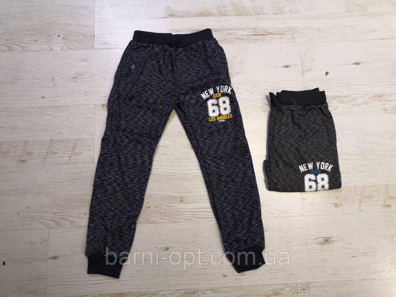 Трикотажные спортивные брюки для мальчиков оптом, Sincere 134-164 рр.