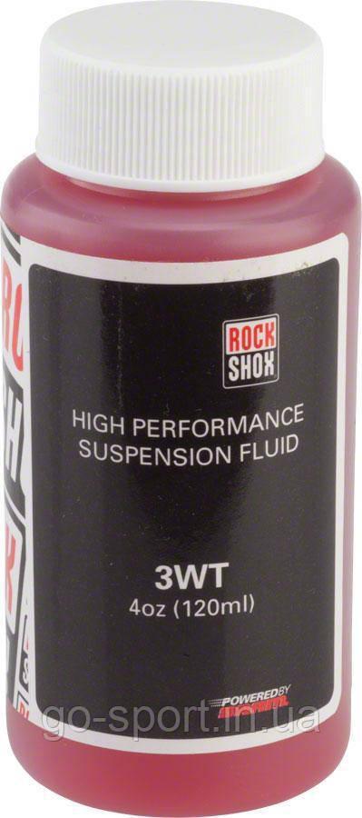 Масло для амортизаторов RockShox Fork Oil 3 WT 120ml