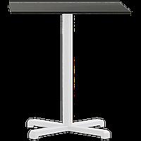 База стола Plus 48x48x73 см матовая белая Papatya, фото 1