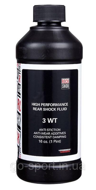 Масло для заднего амортизатора RockShox Rear Shock Oil 3 WT 473ml