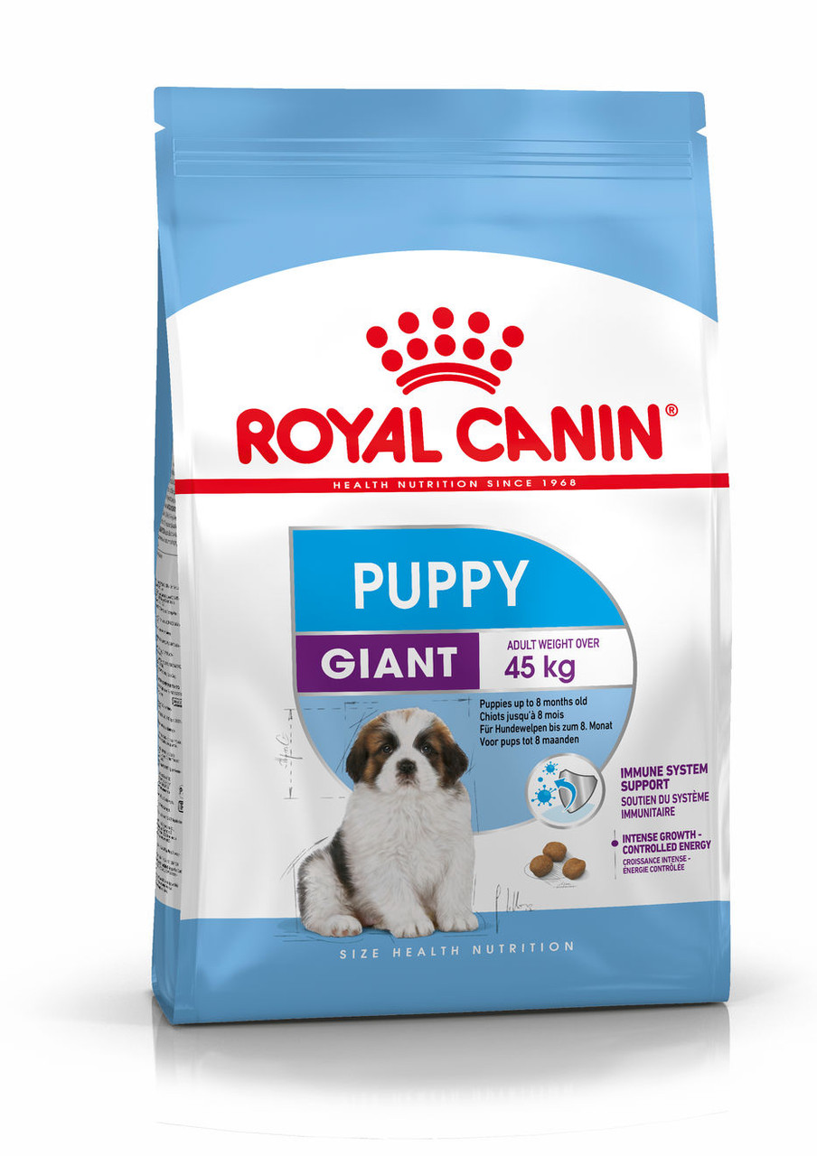 Royal Canin (Роял Канин) Giant Puppy корм для щенков гигантских пород до 8 месяцев, 15 кг