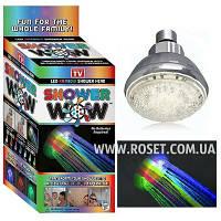 Насадка для подсветки воды из душа «Shower Wow», фото 1