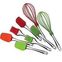 Набор кухонных принадлежностей силиконовые 4пр. MR- 1590 Maestro