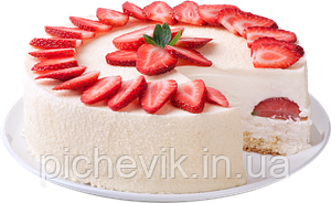 Творожный десерт (без выпечки) (на желатине)