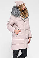 Модная куртка парка с мехом внутри р 46, X-Woyz LS-8806-25