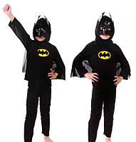 Детский карнавальный костюм Бэтмен  размер  С, М, Л