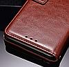 Кожаный чехол-книжка для Xiaomi Mi 8 коричневый, фото 4