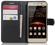 Чехол-книжка для Huawei Y5 II черный, фото 2