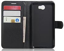 Чехол-книжка для Huawei Y5 II черный, фото 3