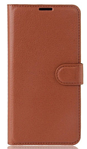 Чехол-книжка для Meizu M5 Note коричневый