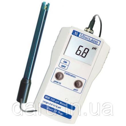 Профессиональный pH-метр Milwaukee MW 100 pH с монитором, США