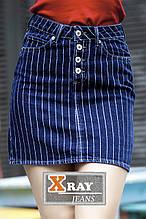 Юбка джинсовая X-RAY