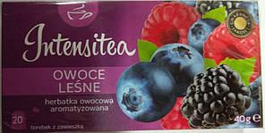 Чай Biedronka Intensitea Owoce Lesne, 20 шт (Польша)