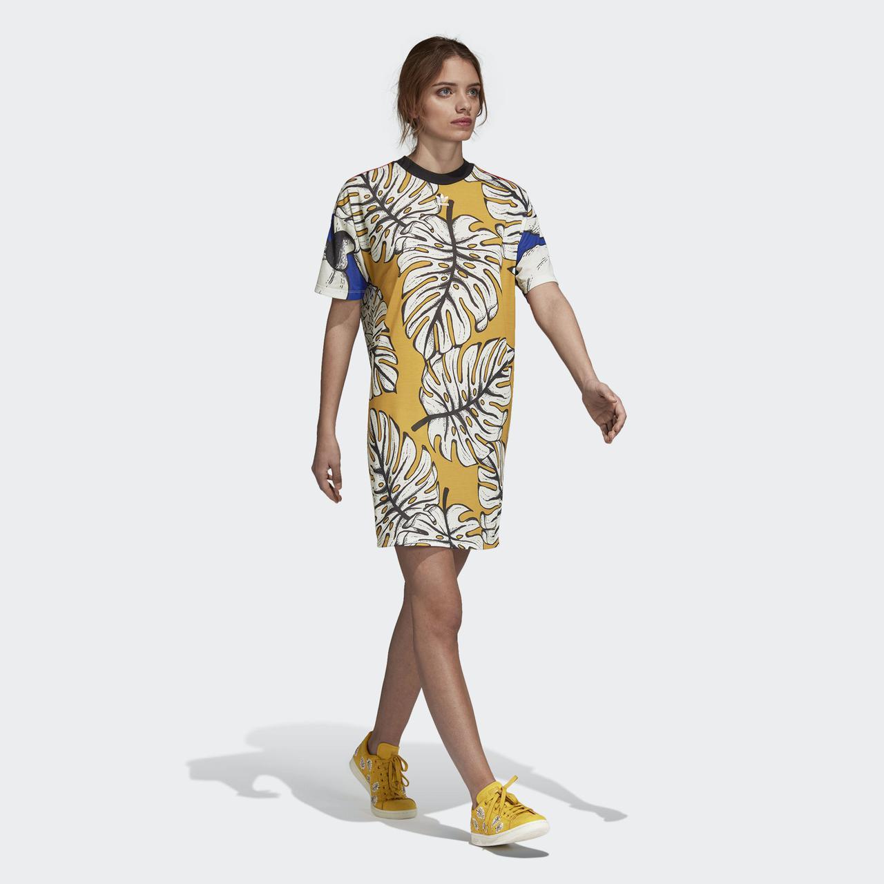 a9992b2541cfe Яркое женское платье Adidas Originals DH3069 - 2018/2 - Интернет магазин  Tip - все