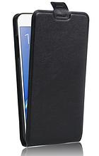 Чехол флип для Samsung galaxy j7 2016 j710 черный