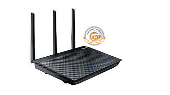Беспроводной маршрутизатор Asus RT-AC66U (AC1750, 1*Wan, 4*LAN Gigabit, 2*USB, 3 антенны)