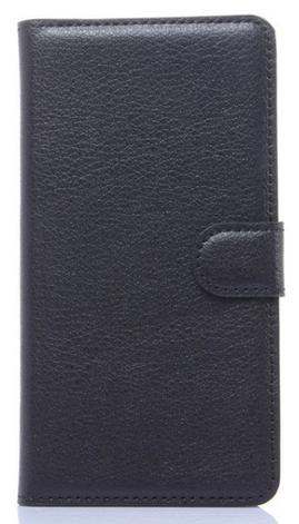 Чехол книжка для Samsung Galaxy S6 G920F черный, фото 2
