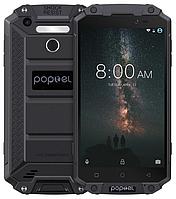"Poptel P9000 MAX black IP68 4/64 Gb, 5.5"", MT6750V, 3G, 4G"