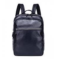 Мужской кожаный рюкзак NN RU-NN13383 черный