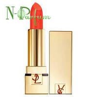 Помада для губ увлажняющая, стойкая, лаковая YSL Rouge Pur Couture, №340 SPF 15 3.8 г. (тестер)