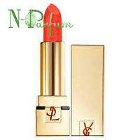 Помада для губ увлажняющая, стойкая, лаковая YSL Rouge Pur Couture, №49 SPF 15 3.8 г. (тестер)