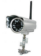 Видеокамера с беспроводным доступом lux j601-ws, ir-подсветка, ночная съемка, прочный металлический корпус