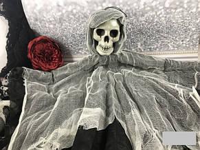 Декорации к празднику Хэллоуин Halloween подвеска скелет призрак 80*55 см, фото 3