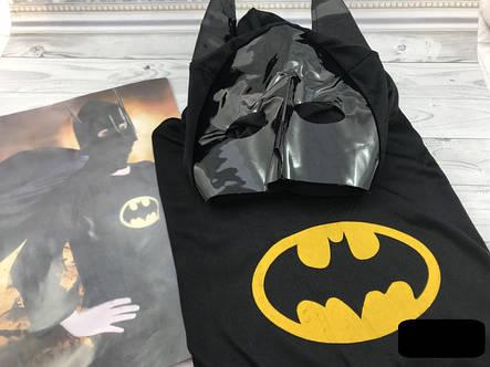 Детский карнавальный костюм Бэтмен  размер   M - с 3 - 6 лет  СКЛАД, фото 2