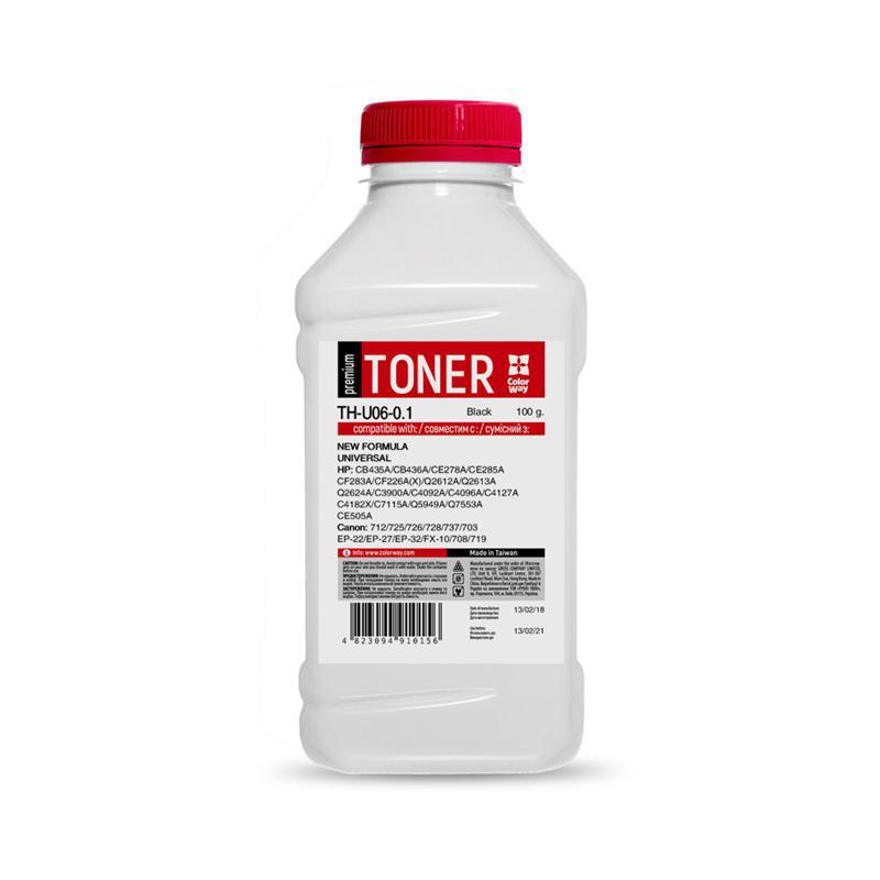 Тонер CW (TH-U06-0.1) HP LJ 1005/2035/1010/M402/426 Premium, 100г