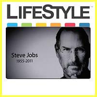 Качественный классический Коврик для мышки Steve Jobs (20*24*0.15), фото 1