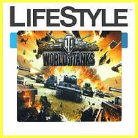 Качественный Коврик для мышки World of Tanks №3 (29cм.*25см.*2мм.)