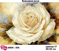 Картина Кремовая роза ММЦ-010