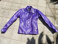Куртка зі шкіри пітона / Куртка из кожи питона 0628