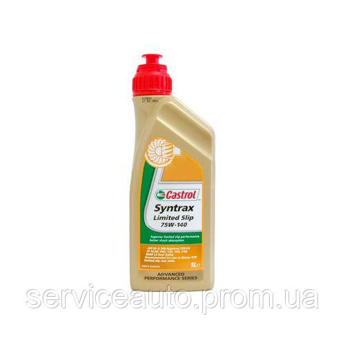 Трансмиссионное масло Castrol Syntrax Limited Slip 75W-140 1л (R32)