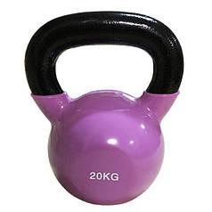Цветная виниловая гиря Rising 20 кг