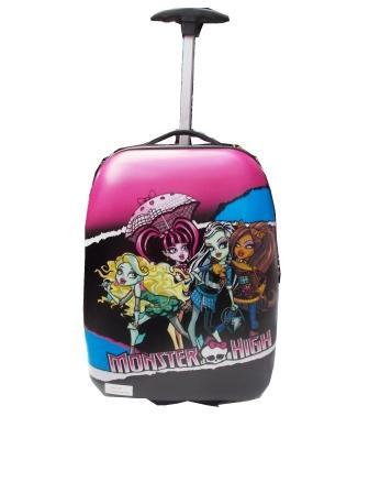 "Дитячий пластиковий чемодан ""Monster Hign"""