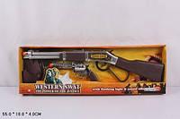 Набор ковбоя (пистолет, ружье..) в коробке 55х18см 7719А