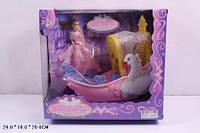 Кукла типа Барби + Лодочка в коробке 29х26х16см 383