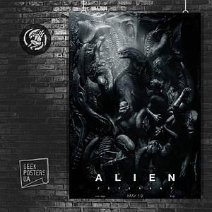 Постер Ковенант, Завет, Covenant, Чужой, Aliens. Размер 60x42см (A2). Глянцевая бумага