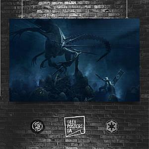 Постер Штурмовик против Королевы Ксеноморфов, Чужие, Звёздные Войны (60x129см)