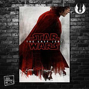 Постер Star Wars: Last Jedi (Кайло Рен). Размер 60x42см (A2). Глянцевая бумага
